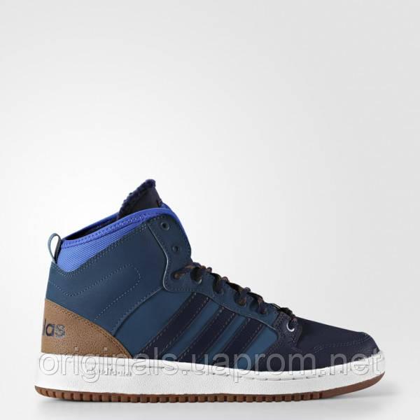 Высокие кроссовки мужские Adidas Cloudfoam Hoops Winter Mid AC7791