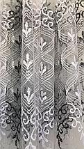 Тюль фатин турецкий чёрный 700, фото 3