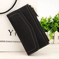 Клатч кошелек  женский черный N1565Bl, фото 1