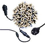 Новогодняя гирлянда 100 LED, IP44, Длина 7 М, кабель 2,4мм, фото 2