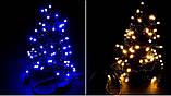 Новогодняя гирлянда 100 LED, IP44, Длина 7 М, кабель 2,4мм, фото 4