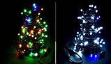 Новогодняя гирлянда 100 LED, IP44, Длина 7 М, кабель 2,4мм, фото 5