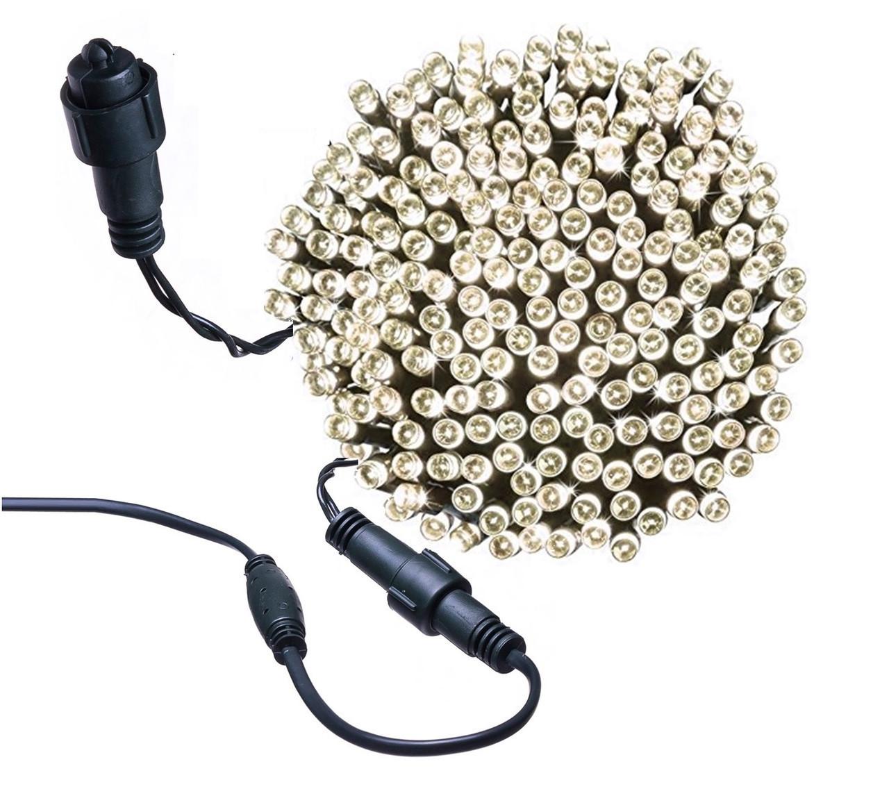 Новогодняя гирлянда 500 LED, Длина 35 Метров, Кабель 2,2 мм