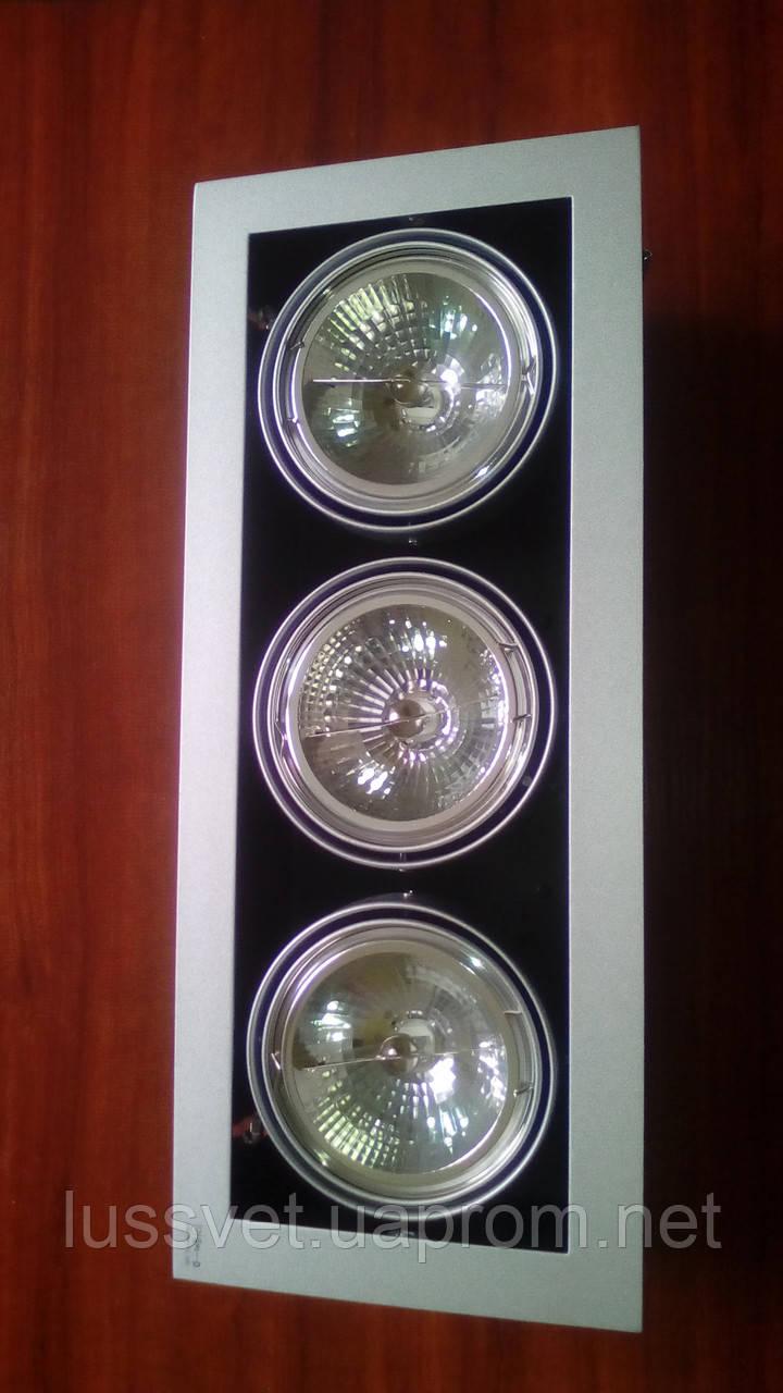 Светильник карданный Kanlux Mateo DLP-350-GR