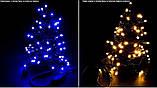 Новогодняя гирлянда 200 LED, Длина набора 17,5 м, Кабель 2,4 мм, фото 3