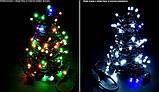 Новогодняя гирлянда 200 LED, Длина набора 17,5 м, Кабель 2,4 мм, фото 4