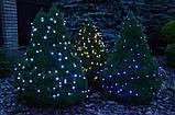 Новогодняя гирлянда 200 LED, Длина набора 17,5 м, Кабель 2,4 мм, фото 5