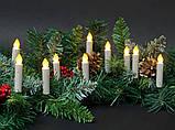 "Новогодняя подсветка ""Свеча"" 32 LED, фото 5"
