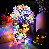 """Новогодняя гирлянда """"Цветы"""" IP44, 30 Светодиодов, фото 2"""