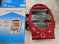 Инфракрасный обогреватель Quartz Heater  Domotec экономичный электрообогреватель