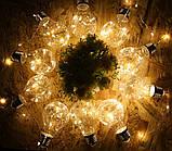 """Новогодняя гирлянда """"Лампы Едисона"""" 100 LED IP44, фото 3"""