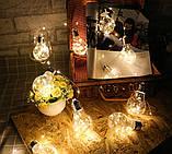 """Новогодняя гирлянда """"Лампы Едисона"""" 100 LED IP44, фото 5"""