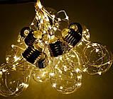 """Новогодняя гирлянда """"Лампы Едисона"""" 100 LED IP44, фото 6"""