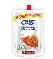 Жидкое мыло 500 мл Молоко и Мед Olis Дойпак