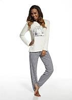 Хлопковый домашний комплект / пижама женская CORNETTE 627/97 SHOPPING