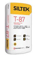 Смесь для приклеивания теплоизоляционных плит и гидрозащитного армирующего слоя в теплоизоляции Т-87 Силтек 25
