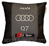 Подушка сувенирная с маркой машины ауди Audi, фото 2