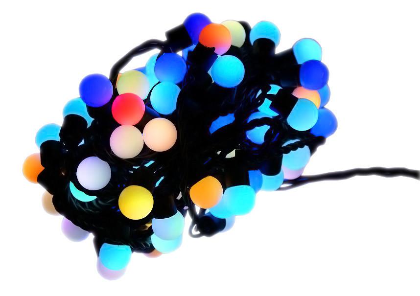 Новогодняя гирлянда 300 LED / 30 м, Разноцветный свет