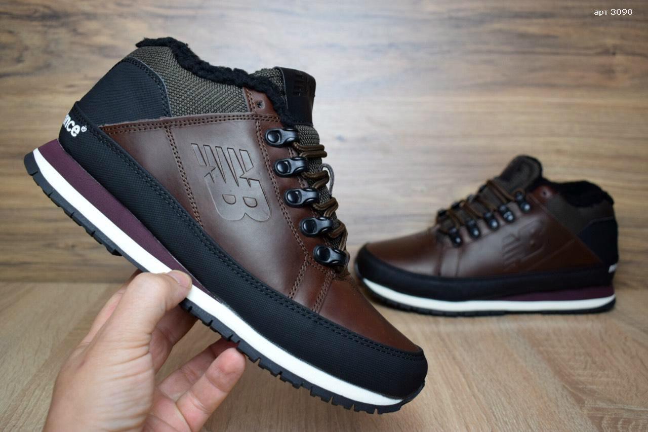 979e756c4d89 Зимние мужские кожаные ботинки New Balance 754 на меху  продажа ...