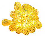 """Новогодняя гирлянда """"Золотая груша"""" 30 LED, 6,5м, фото 3"""