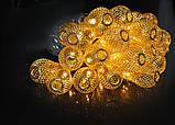 """Новогодняя гирлянда """"Золотая груша"""" 30 LED, 6,5м, фото 5"""