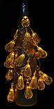 """Новогодняя гирлянда """"Золотая груша"""" 30 LED, 6,5м, фото 6"""