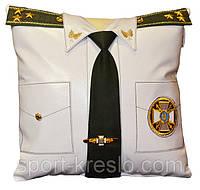 Сувенирная подушка с вышивкой МЧС, МВД и СБУ