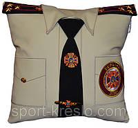 Сувенирная подушка декоративная сотруднику МЧС, медику, полицейскому и СБУ