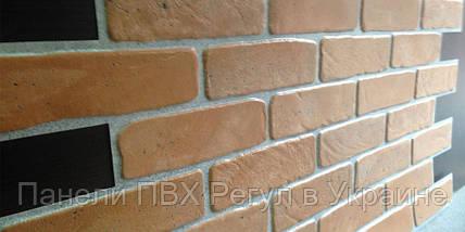 Стеновые панели пвх КИРПИЧ «СТАРЫЙ ЖЕЛТЫЙ», фото 3