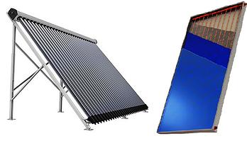 Круглогодичные солнечные коллекторы
