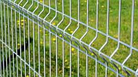 Забор секционный оцинкованный.
