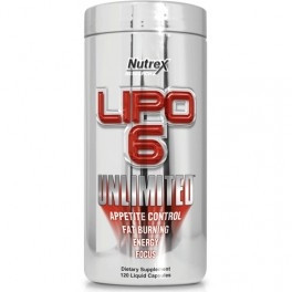 Nutrex Lipo-6 Unlimited 120 капс