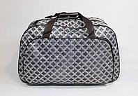 Женская дорожная сумка серая 7448-12