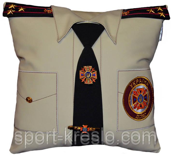 Сувенирная подушка подарочная Полиция, ДСНС, МВД и СБУ
