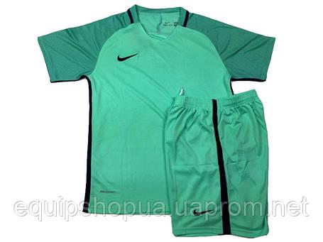 Футбольная форма игровая Nike (Найк бирюзовая) , фото 2