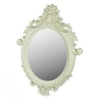Подвесное-настенное овальное декоративное зеркало