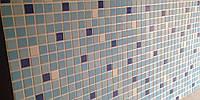 Панель в ванную МОЗАИКА «ГОЛУБОЙ МИКС»