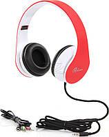 Наушники накладные с микрофоном ProLogix MH-A960M Red / Black / White (MH-A960M)