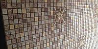 Декоративные панели МОЗАИКА «МЕДАЛЬОН КОРИЧНЕВЫЙ»