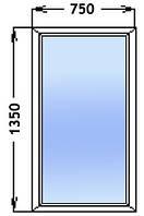 Окно Глухое двух камерный стекло пакет профиль Rehau Design 70