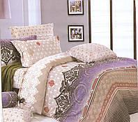 Двуспальный комплект постельного белья Иней Фиолет