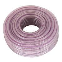 Шланг PVC высокого давления армированный 6мм*50м Intertool PT-1740