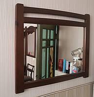 """Зеркало """"Сакура"""", покрытие - """"лесной орех"""" (№ 44)."""