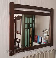 """Зеркало """"Сакура"""" (770*955мм.), покрытие - """"лесной орех"""" (№ 44)., фото 3"""