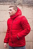 Куртка зимняя, мужская, красный