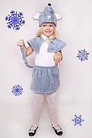 Детский Карнавальный меховой костюм Мышка,костюм мышонка, костюмы новогодние, дропшиппинг  украина, фото 1
