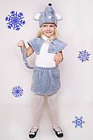 Детский Карнавальный меховой костюм Мышка,костюм мышонка, костюмы новогодние, дропшиппинг  украина