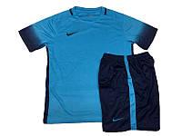 Футбольная форма игровая Nike (голубая)