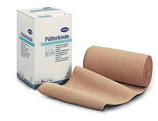 Putterbinde / Пюттербинт - Среднерастяжимый эластичный компрессионный бинт из чистого хлопка, 6см х 5м