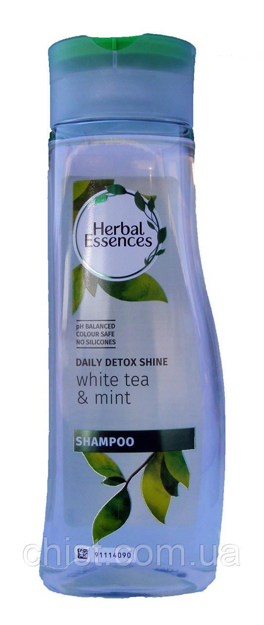 Herbal Essences,Шампунь против перхоти White tea & mint (400 мл)